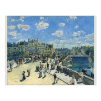 Pont Neuf, Paris by Pierre-Auguste Renoir Postcard