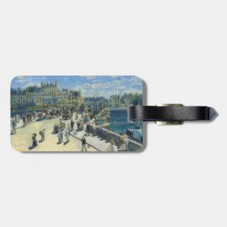 Pont Neuf París de Pierre-Auguste Renoir Etiquetas Maleta