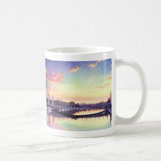 """Pont Neuf Paris"" France Watercolor Art Coffee Mug"