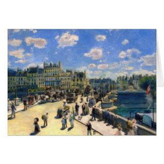 Pont Neuf, Paris Greeting Card