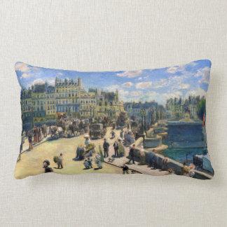 Pont Neuf, Paris Lumbar Pillow