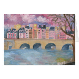 Pont Neuf : PARIS Notecard Stationery Note Card