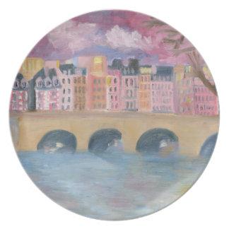 Pont Neuf Paris Plate