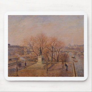 Pont Neuf, the Statue of Henri IV, Sunny Weather Mouse Pad