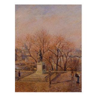 Pont Neuf, the Statue of Henri IV, Sunny Weather Postcard