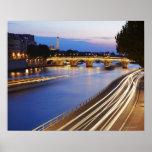 """""""Pont puente y Eiffel de Louis Felipe"""" Poster"""