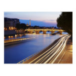 """""""Pont puente y Eiffel de Louis Felipe"""" Tarjeta Postal"""
