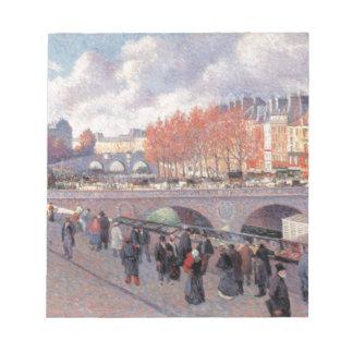 Pont Saint-Michel Paris Scratch Pads