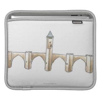 Pont Valentre iPad Sleeve