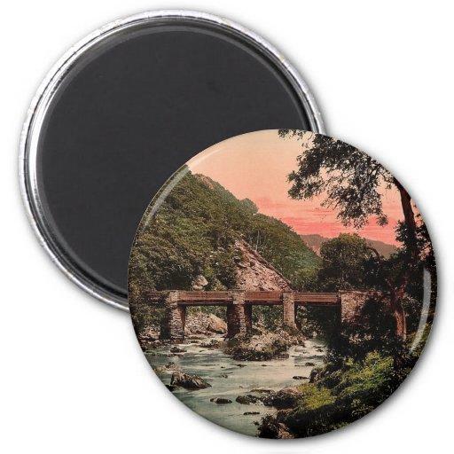 Pont-y-Pair, Bettws-y-Coed (i.e. Betws), Wales rar 2 Inch Round Magnet