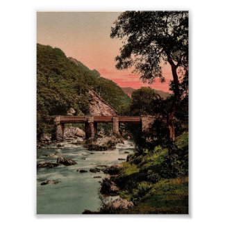 Pont-y-Pair, Bettws-y-Coed (i.e. Betws), Wales rar Poster