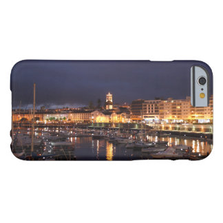 Ponta Delgada at night Barely There iPhone 6 Case