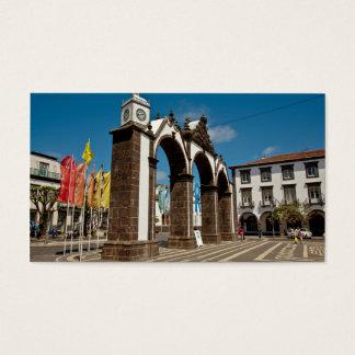 Ponta Delgada, Azores Business Card