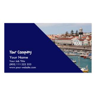 Ponta Delgada - Azores Business Card