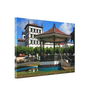 Ponta Delgada Azores Canvas Print