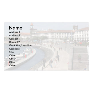 Ponta Delgada, Azores Double-Sided Standard Business Cards (Pack Of 100)