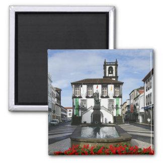 Ponta Delgada -  Azores 2 Inch Square Magnet