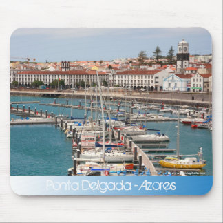 Ponta Delgada - Azores Mouse Pad
