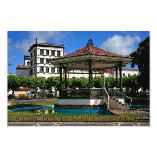 Ponta Delgada Azores Photo Print