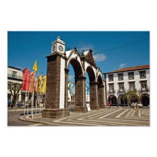 Ponta Delgada, Azores Photo Print