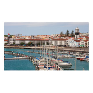 Ponta Delgada, Azores - pocket calendar Business Card