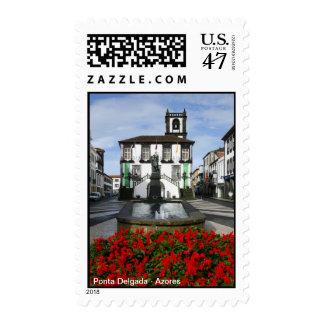 Ponta Delgada -  Azores Postage Stamp