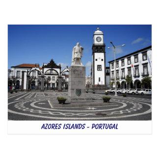 Ponta Delgada, Azores Postales