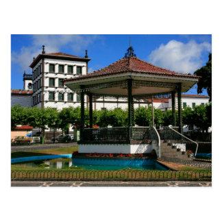 Ponta Delgada Azores Postcard