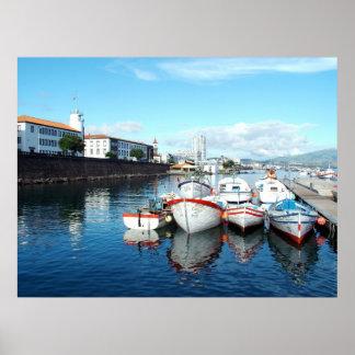 Ponta Delgada, Azores Poster