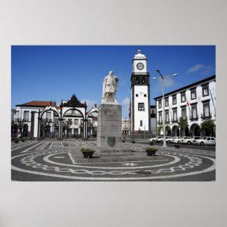 Ponta Delgada, Azores Póster