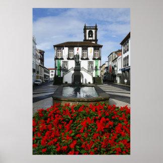 Ponta Delgada -  Azores Print