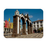 Ponta Delgada, Azores Rectangular Photo Magnet