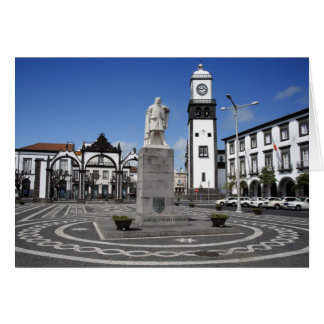 Ponta Delgada, Azores Tarjeta De Felicitación