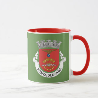 Ponta Delgada Coat of Arms Mug