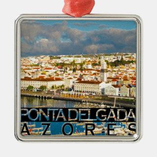 Ponta Delgada Metal Ornament