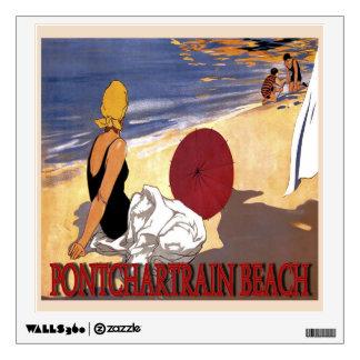 Pontchartrain  Beach Family Bathing Wall Decal