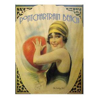 Pontchartrain Beach Poster Postcard