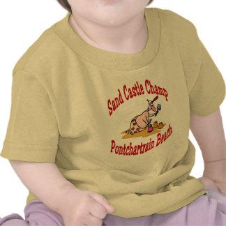 Pontchartrain Beach Sand Castle Champ T-shirt