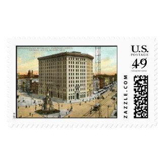 Pontchartrain Hotel, Detroit MI 1908 Vintage Postage