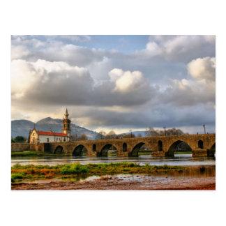 Ponte de Lima bridge Postcard