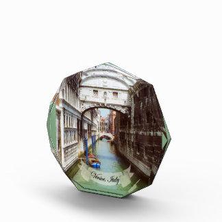 Ponte dei Sospiri Venezia Italia Souvenir Acrylic Award