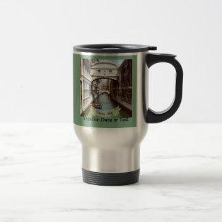 Ponte dei Sospiri Venezia Italia Souvenir Travel Mug
