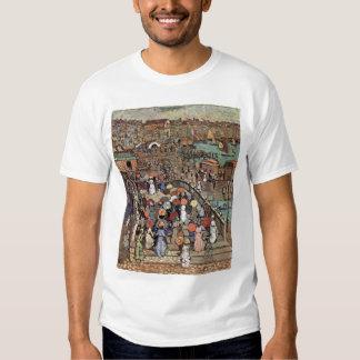 Ponte Della Paglia, Venice by Maurice Prendergast T-Shirt