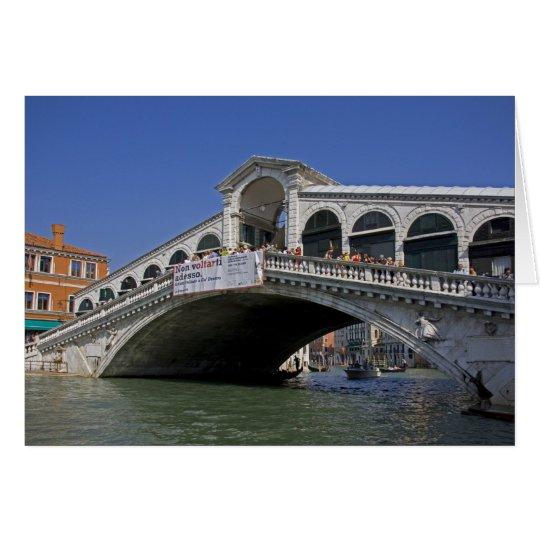 Ponte di Rialto Card