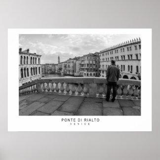 Ponte di Rialto Póster