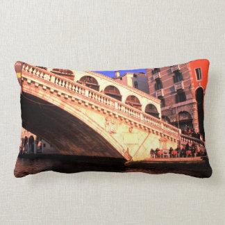 Ponte di Rialto   Venice, Italy Lumbar Pillow