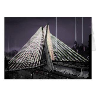 ponte estaiada card