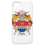 Ponte Family Crest iPhone 5 Cases