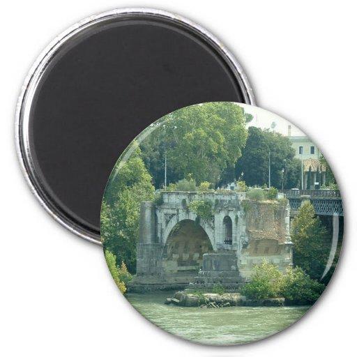 Ponte Rotto - Rome Refrigerator Magnet