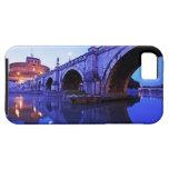 Ponte Sant Ángel y Castel Sant Ángel encima iPhone 5 Carcasa